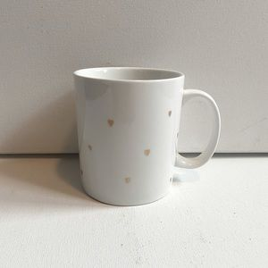 West Elm Gold Hearts Mug *prefer to bundle
